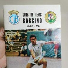 Coleccionismo deportivo: BOLETIN REVISTA CLUB TENIS BARCINO 1970-VI. Lote 199485552