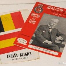 Coleccionismo deportivo: LOTE DE DOS REVISTAS DE DEPORTES (UNA DE ELLAS ES DEL REAL CLUB DE TENIS BARCELONA) 1899. Lote 199645568