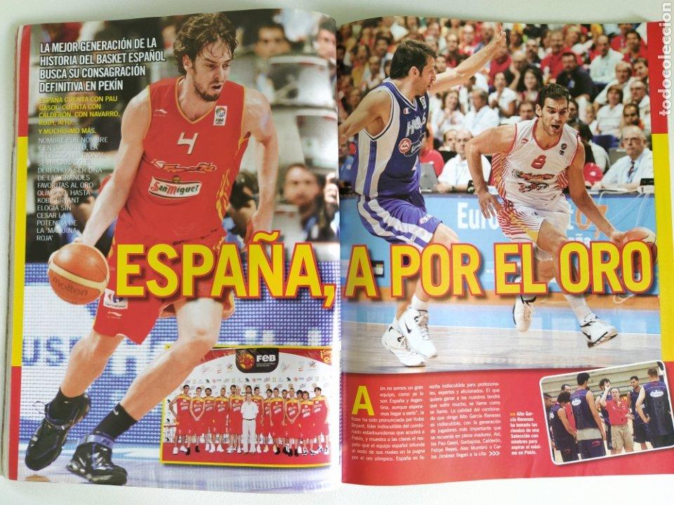 Coleccionismo deportivo: BASKET LIFE Nº 6 (2008) ESPAÑA A CONQUISTAR EL OLIMPO - Con DVD - Foto 5 - 182763266