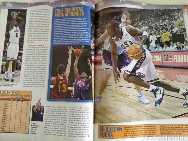 Coleccionismo deportivo: BASKET LIFE Nº 6 (2008) ESPAÑA A CONQUISTAR EL OLIMPO - Con DVD - Foto 6 - 182763266