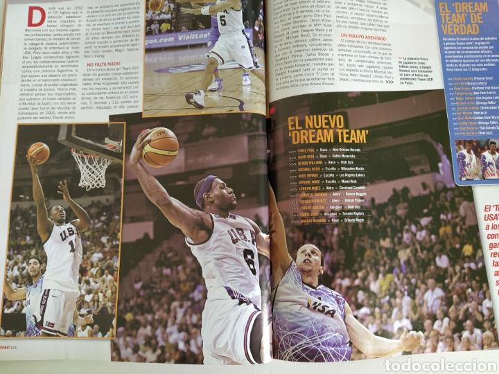 Coleccionismo deportivo: BASKET LIFE Nº 6 (2008) ESPAÑA A CONQUISTAR EL OLIMPO - Con DVD - Foto 7 - 182763266