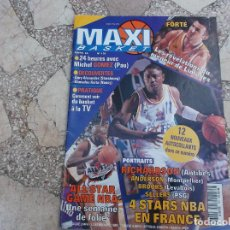 Colecionismo desportivo: MAXI BASKET Nº 138, 1995, EN FRANCES, ALL STAR GAME NBA,FORTE, MICHEAL GOMEZ PAU. Lote 200107561