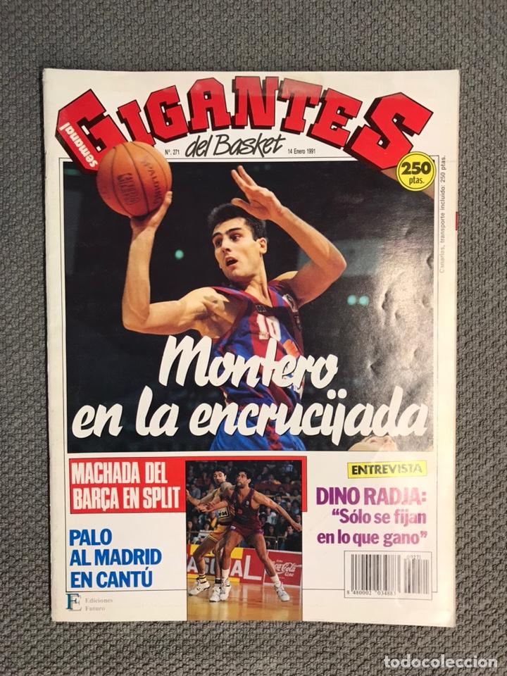 BALONCESTO. GIGANTES DEL BASKET NO.271, 14 DE ENERO DE 1991, POSTER WALTER BERRY (Coleccionismo Deportivo - Revistas y Periódicos - otros Deportes)