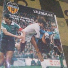 Coleccionismo deportivo: REVISTA DEL VALENCIA CF, AÑO II, 1978,N15. Lote 201115175