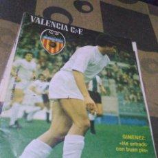 Coleccionismo deportivo: REVISTA DEL VALENCIA CF, AÑO III, 1979,N32. Lote 201115242