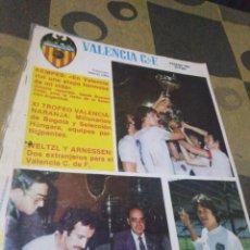 Coleccionismo deportivo: REVISTA DEL VALENCIA CF, AÑO V, 1981,N49. Lote 201115337