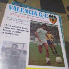 Coleccionismo deportivo: REVISTA DEL VALENCIA CF, AÑO V, 1982,N62-63. Lote 201115446
