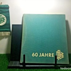 Coleccionismo deportivo: FEDERACIÓN ALEMANA FUTBOL 60 ANIVERSARIO LIBRO Y BANDERIN. Lote 201370453