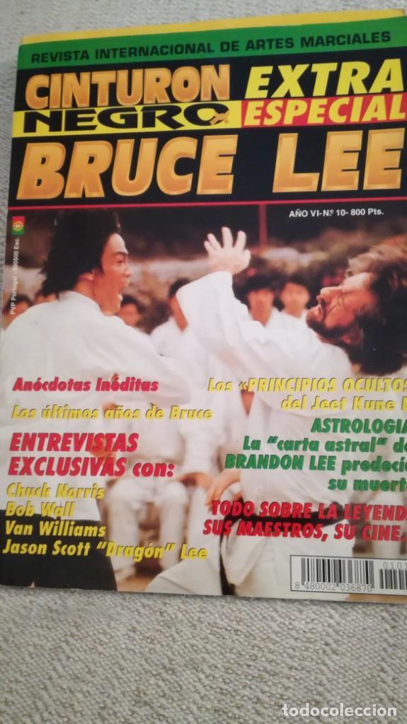 CINTURÓN NEGRO, ESPECIAL BRUCE LEE Y ESPECIAL MAESTROS (Coleccionismo Deportivo - Revistas y Periódicos - otros Deportes)