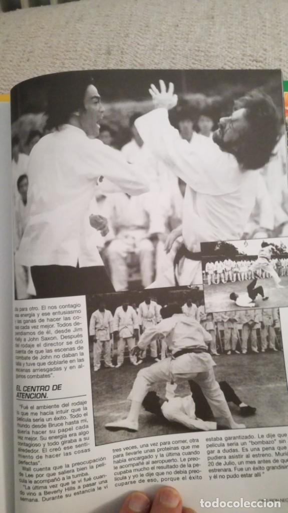 Coleccionismo deportivo: Cinturón negro, especial Bruce lee y especial maestros - Foto 4 - 202319492