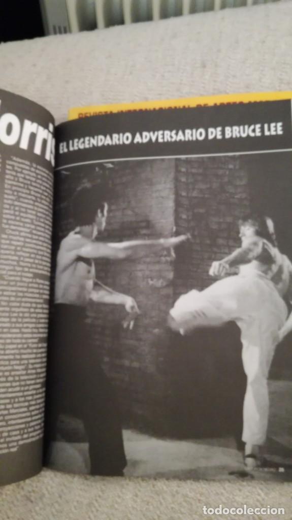 Coleccionismo deportivo: Cinturón negro, especial Bruce lee y especial maestros - Foto 5 - 202319492