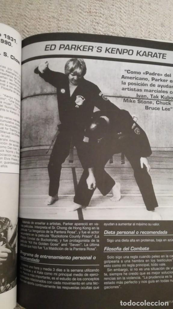 Coleccionismo deportivo: Cinturón negro, especial Bruce lee y especial maestros - Foto 7 - 202319492