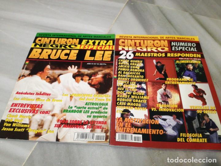 Coleccionismo deportivo: Cinturón negro, especial Bruce lee y especial maestros - Foto 10 - 202319492