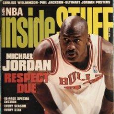 Coleccionismo deportivo: MICHAEL JORDAN - REVISTA ''INSIDE STUFF'' (JULIO 1998) - ESPECIAL 18 PÁGINAS - NBA. Lote 50654693