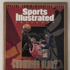 Coleccionismo deportivo: MICHAEL JORDAN - REVISTA ''SPORTS ILLUSTRATED'' (1998) - ESPECIAL SEXTO ANILLO - THE LAST DANCE. Lote 277305688