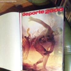 Coleccionismo deportivo: REVISTA DEPORTE 2000. 6 TOMOS, 6 AÑOS. Lote 202863176