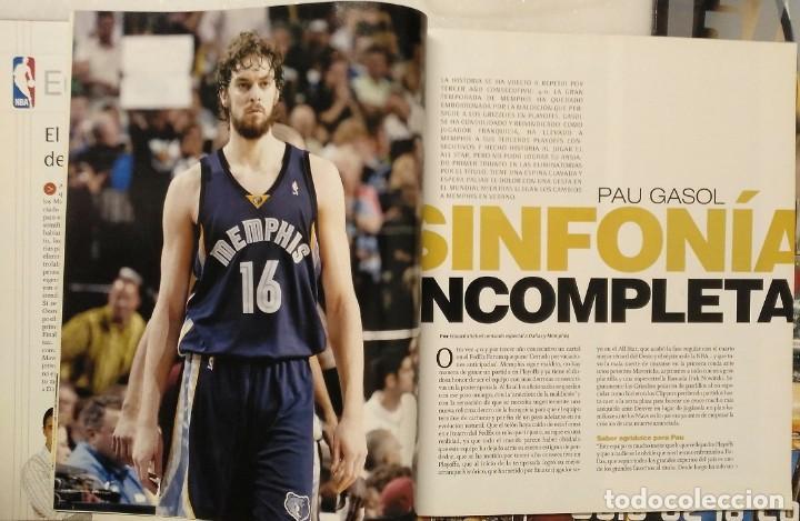 Coleccionismo deportivo: Pau Gasol - 17 revistas Gigantes del Basket y Revista Oficial NBA (2000-2009) - NBA - Foto 11 - 130455458