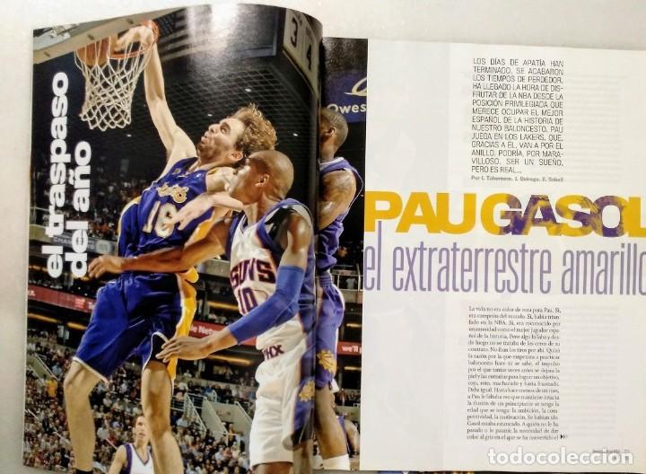 Coleccionismo deportivo: Pau Gasol - 17 revistas Gigantes del Basket y Revista Oficial NBA (2000-2009) - NBA - Foto 12 - 130455458