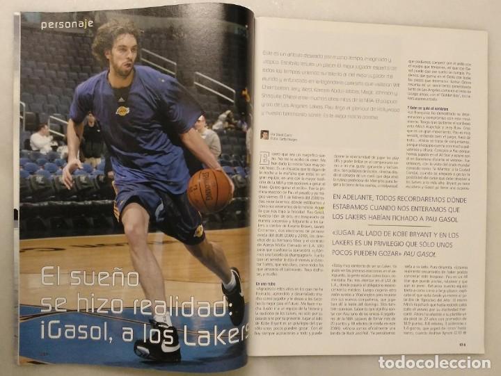 Coleccionismo deportivo: Pau Gasol - 17 revistas Gigantes del Basket y Revista Oficial NBA (2000-2009) - NBA - Foto 13 - 130455458