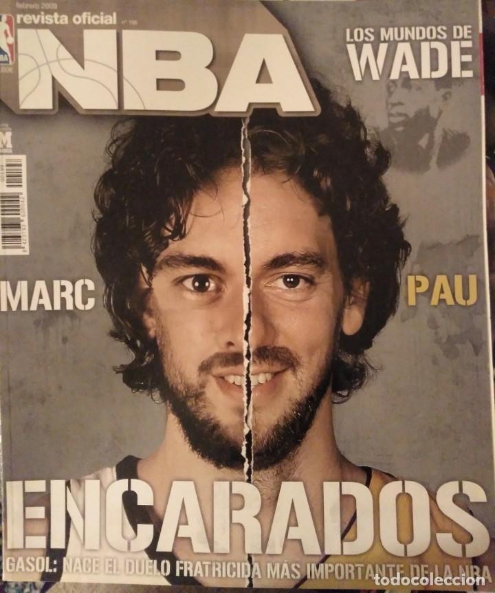 Coleccionismo deportivo: Pau Gasol - 17 revistas Gigantes del Basket y Revista Oficial NBA (2000-2009) - NBA - Foto 14 - 130455458