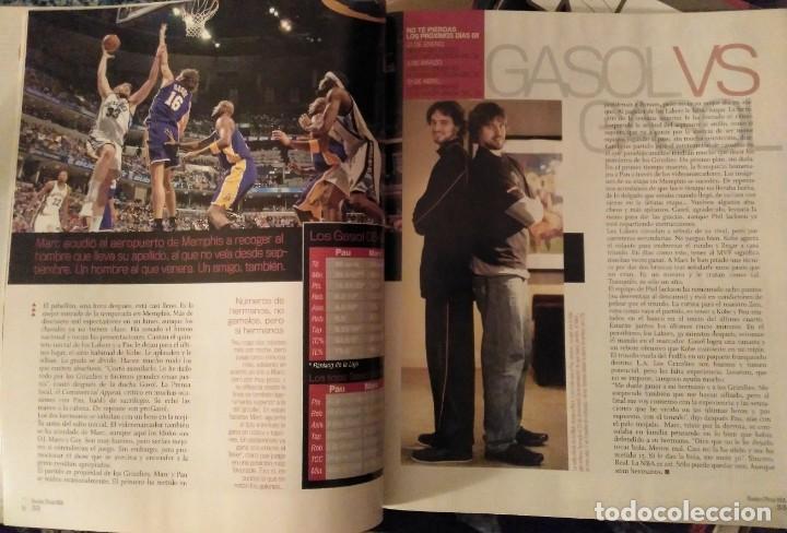 Coleccionismo deportivo: Pau Gasol - 17 revistas Gigantes del Basket y Revista Oficial NBA (2000-2009) - NBA - Foto 15 - 130455458