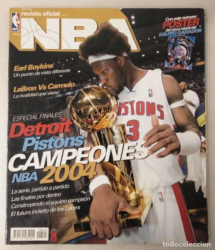 """Coleccionismo deportivo: Detroit Pistons - Revistas Gigantes, Superbasket y Revista NBA"""" - Campeones de 1990 y 2004 - Foto 11 - 203307278"""