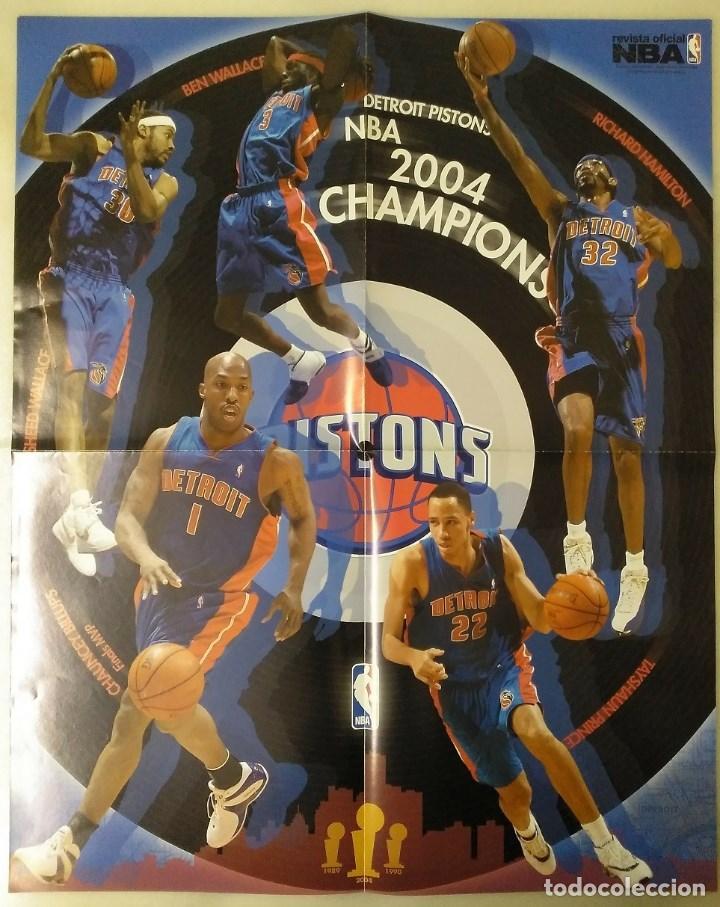 """Coleccionismo deportivo: Detroit Pistons - Revistas Gigantes, Superbasket y Revista NBA"""" - Campeones de 1990 y 2004 - Foto 15 - 203307278"""