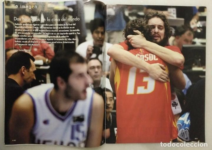 Coleccionismo deportivo: Revistas Gigantes del Basket y Revista Oficial NBA (2006) - España, campeona del Mundo - Foto 2 - 203307301