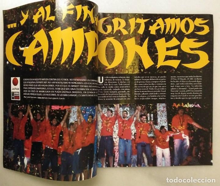Coleccionismo deportivo: Revistas Gigantes del Basket y Revista Oficial NBA (2006) - España, campeona del Mundo - Foto 4 - 203307301