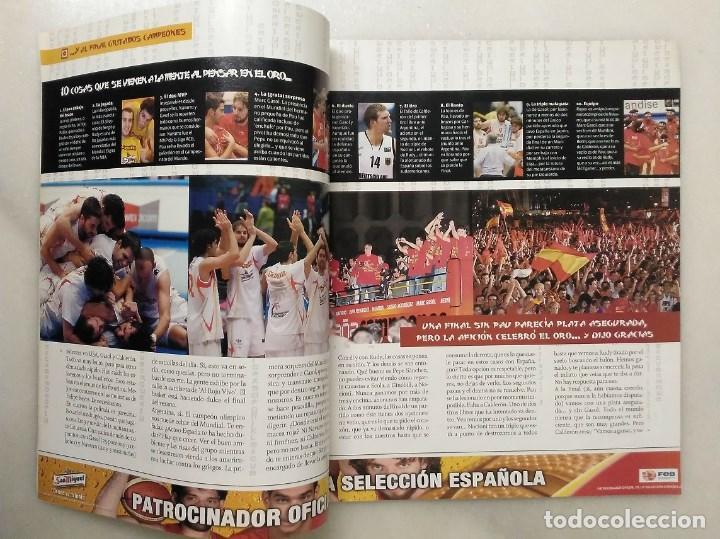 Coleccionismo deportivo: Revistas Gigantes del Basket y Revista Oficial NBA (2006) - España, campeona del Mundo - Foto 5 - 203307301