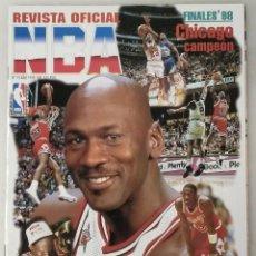 Coleccionismo deportivo: MICHAEL JORDAN - ''REVISTA OFICIAL DE LA NBA'' - VERANO DE 1998 - SEXTO ANILLO. Lote 161963453