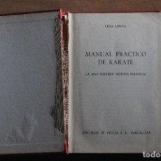 Coleccionismo deportivo: MANUAL PRACTICO DE KARATE. Lote 203505595