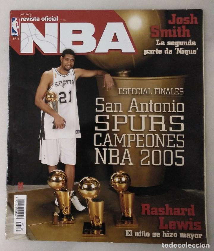 ''REVISTA OFICIAL NBA'' - TERCER ANILLO DE LOS SAN ANTONIO SPURS (2005) (Coleccionismo Deportivo - Revistas y Periódicos - otros Deportes)