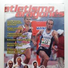 Coleccionismo deportivo: REVISTA ATLETISMO ARAGONES - Nº 1 - ENERO 2005. Lote 204157958