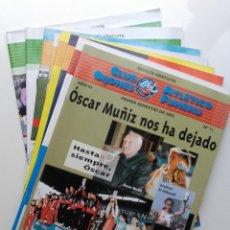 Coleccionismo deportivo: LOTE 8 REVISTAS ATLETISMO - CLUB ATLETICO GIJONES FUMERU. Lote 204158222