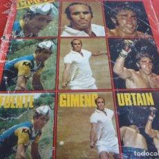 Collezionismo sportivo: REVISTA(JULIO-1972)-PAQUITO FERNANDEZ OCHOA,TORNEO JUVENIL UEFA ESPAÑA FUTBOL. Lote 204699917