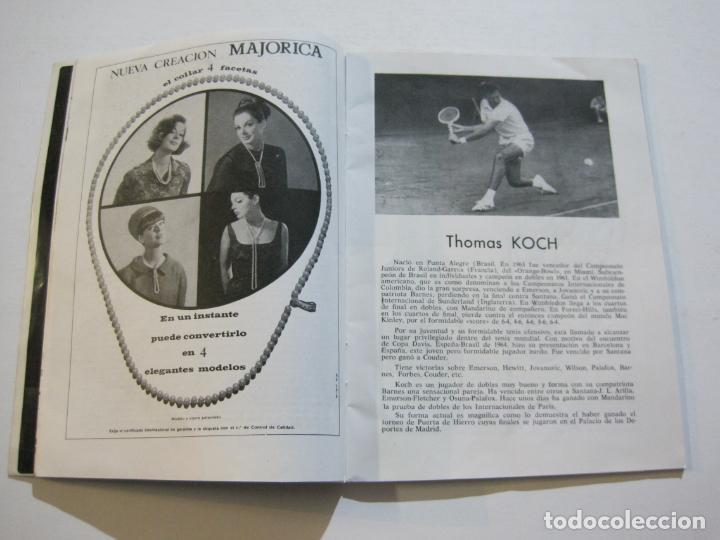 Coleccionismo deportivo: TENIS-REAL FEDERACION ESPAÑOLA COPA DAVIS-BRASIL VS ESPAÑA-AÑO 1966-VER FOTOS-(V-20.167) - Foto 8 - 205023638