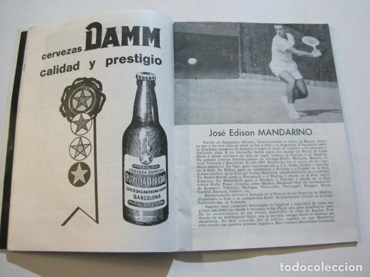 Coleccionismo deportivo: TENIS-REAL FEDERACION ESPAÑOLA COPA DAVIS-BRASIL VS ESPAÑA-AÑO 1966-VER FOTOS-(V-20.167) - Foto 9 - 205023638