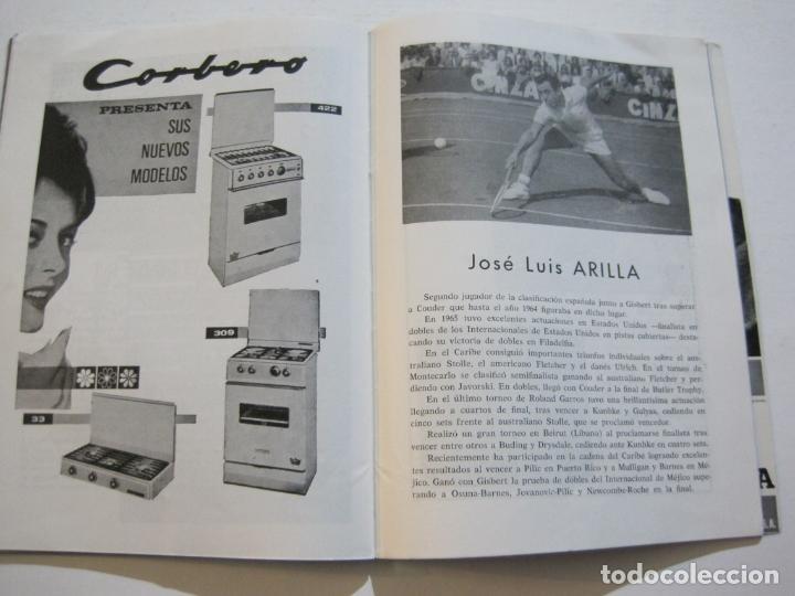 Coleccionismo deportivo: TENIS-REAL FEDERACION ESPAÑOLA COPA DAVIS-BRASIL VS ESPAÑA-AÑO 1966-VER FOTOS-(V-20.167) - Foto 12 - 205023638