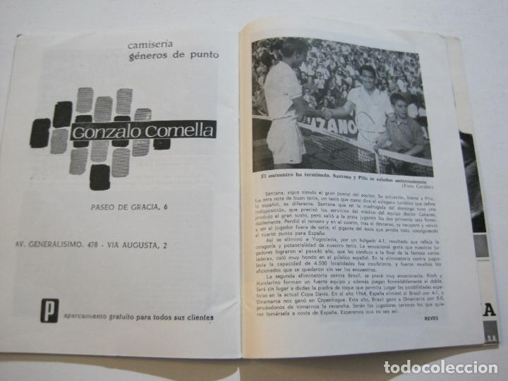 Coleccionismo deportivo: TENIS-REAL FEDERACION ESPAÑOLA COPA DAVIS-BRASIL VS ESPAÑA-AÑO 1966-VER FOTOS-(V-20.167) - Foto 13 - 205023638