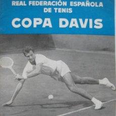 Coleccionismo deportivo: TENIS-REAL FEDERACION ESPAÑOLA COPA DAVIS-BRASIL VS ESPAÑA-AÑO 1966-VER FOTOS-(V-20.167). Lote 205023638