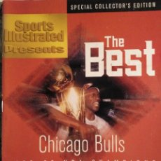 Coleccionismo deportivo: MICHAEL JORDAN & CHICAGO BULLS - REVISTA ''SPORTS ILLUSTRATED'' (1996) - CUARTO ANILLO (72-10) - NBA. Lote 199259445