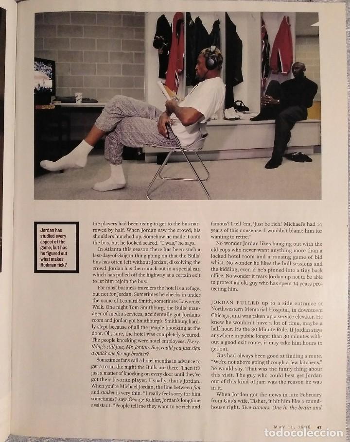Coleccionismo deportivo: Michael Jordan & Chicago Bulls - Revista Sports Illustrated (mayo 1998) - NBA - Foto 5 - 49158670