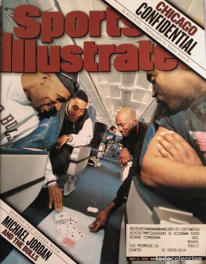 MICHAEL JORDAN & CHICAGO BULLS - REVISTA ''SPORTS ILLUSTRATED'' (MAYO 1998) - NBA (Coleccionismo Deportivo - Revistas y Periódicos - otros Deportes)