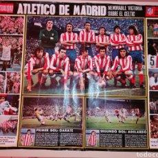 Coleccionismo deportivo: ANTIGUO PÓSTER DEL ATLÉTICO DE MADRID - 24 ABRIL 1974. Lote 206173393