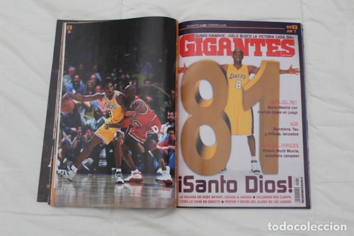 Coleccionismo deportivo: REVISTA GIGANTES DEL BASKET. EDICIÓN ESPECIAL RETIRADA KOBE BRYAN. (2016) BALONCESTO NBA. - Foto 10 - 56256555