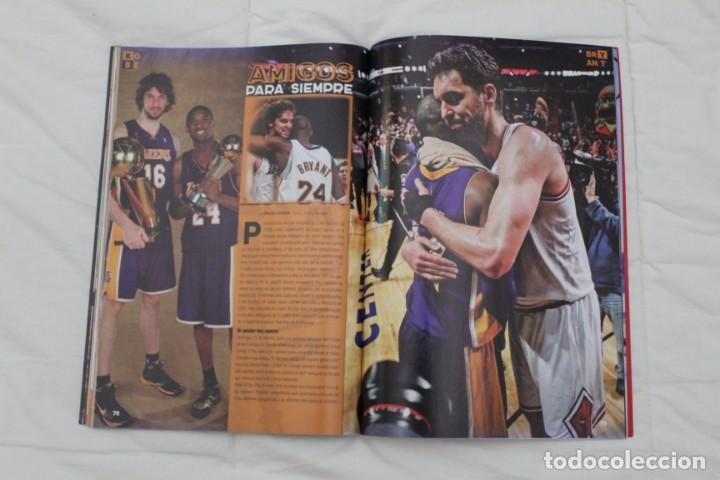 Coleccionismo deportivo: REVISTA GIGANTES DEL BASKET. EDICIÓN ESPECIAL RETIRADA KOBE BRYAN. (2016) BALONCESTO NBA. - Foto 14 - 56256555