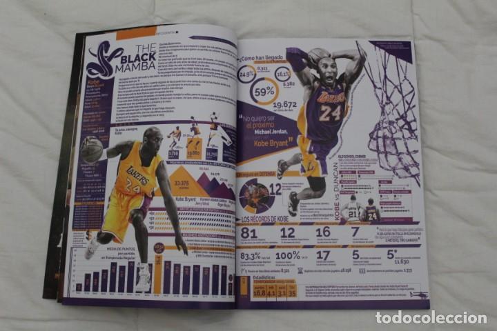 Coleccionismo deportivo: REVISTA GIGANTES DEL BASKET. EDICIÓN ESPECIAL RETIRADA KOBE BRYAN. (2016) BALONCESTO NBA. - Foto 4 - 56256719