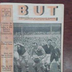 Coleccionismo deportivo: BUT L'HEBDOMADAIRE DE L'ACTUALITE SPORTIVE DEL Nº 1 AL Nº 17 DE 1946 FUTBOL RUGBY BOXEO AÑO 1946. Lote 206486521