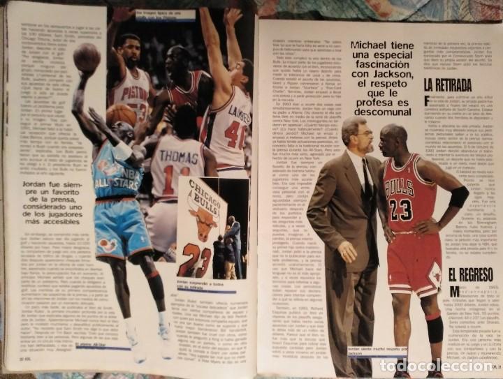 Coleccionismo deportivo: Michael Jordan - Revista XXL Basket (1996) - NBA - Foto 3 - 50337559